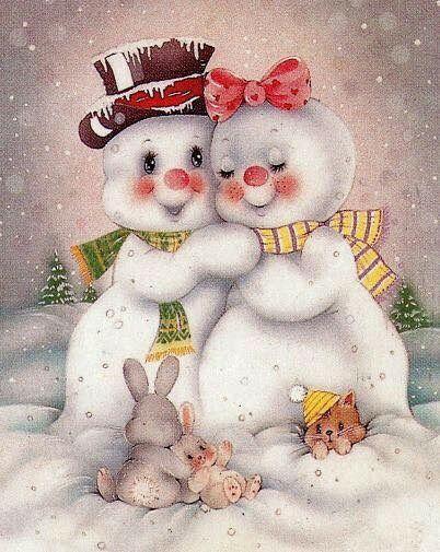 Pin de gina mello laughman en snowmen pinterest - Dibujos navidenos para pintar en tela ...