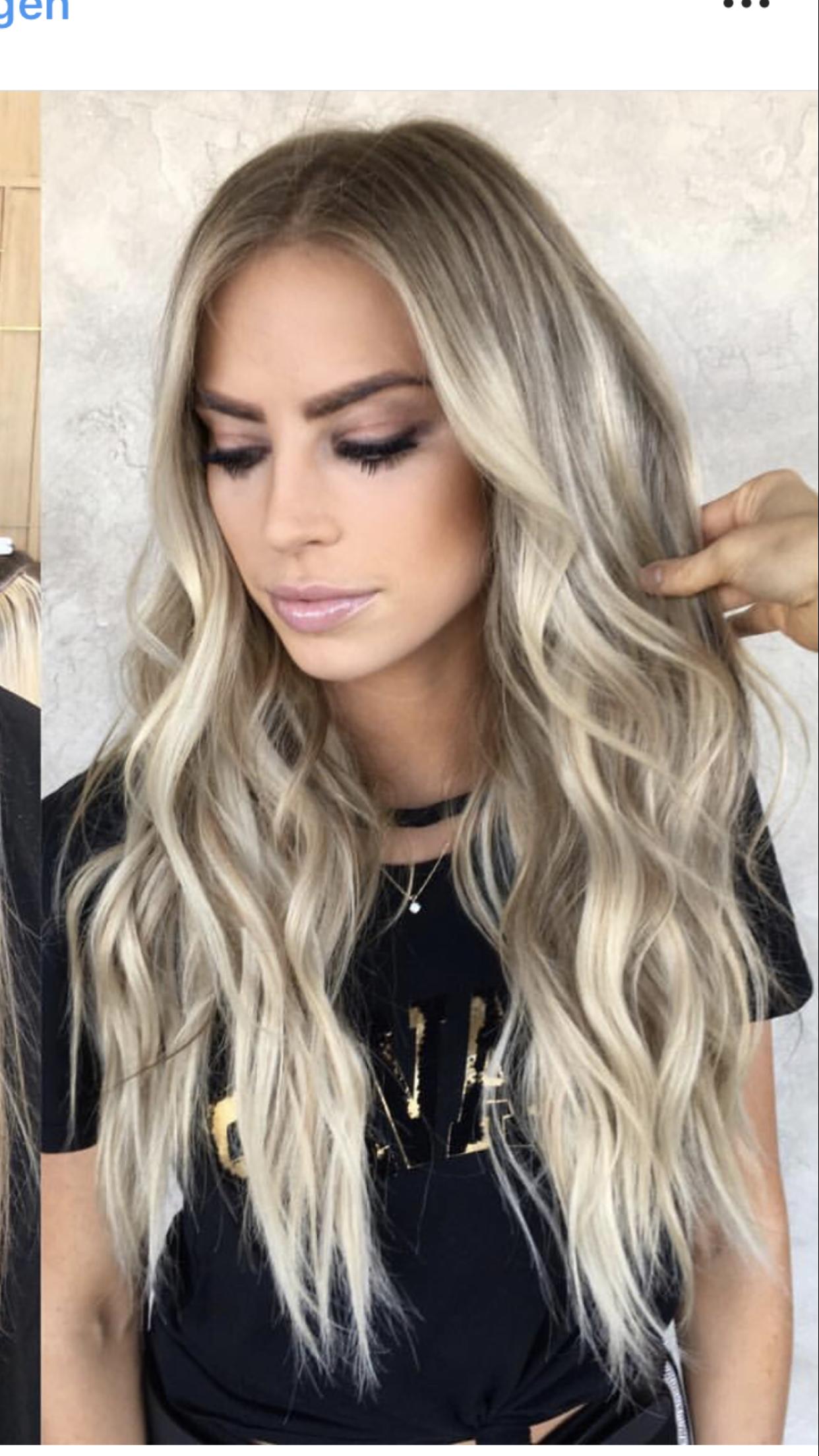 Pin By Emily Lattin On Hair Hair Styles Hair Beauty Balayage Hair