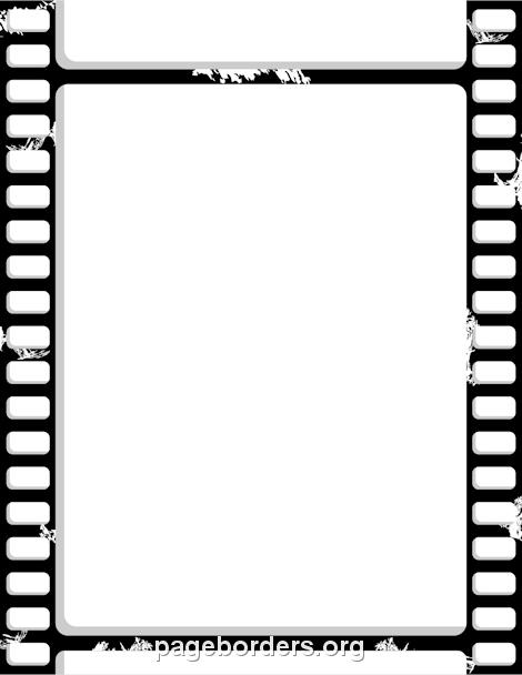 Free Film Strip Border | Film | Pinterest