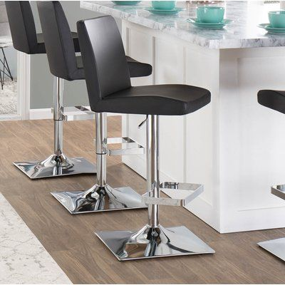 Phenomenal Lumisource Captain Adjustable Height Swivel Bar Stool Inzonedesignstudio Interior Chair Design Inzonedesignstudiocom