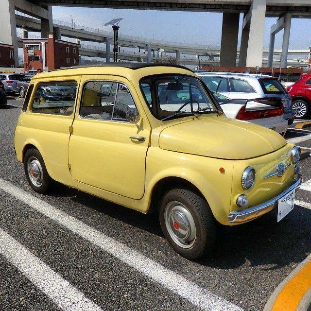 Fiat 500 Giardiniera In Tokyo Japan Fiat Fiat 500 Vintage Fiat