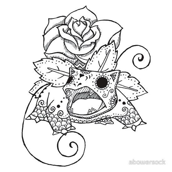 Coloring Sheets Adult Pages Books Pokemon Tattoo Doodle Ideas Day Of The Dead Planner Covers