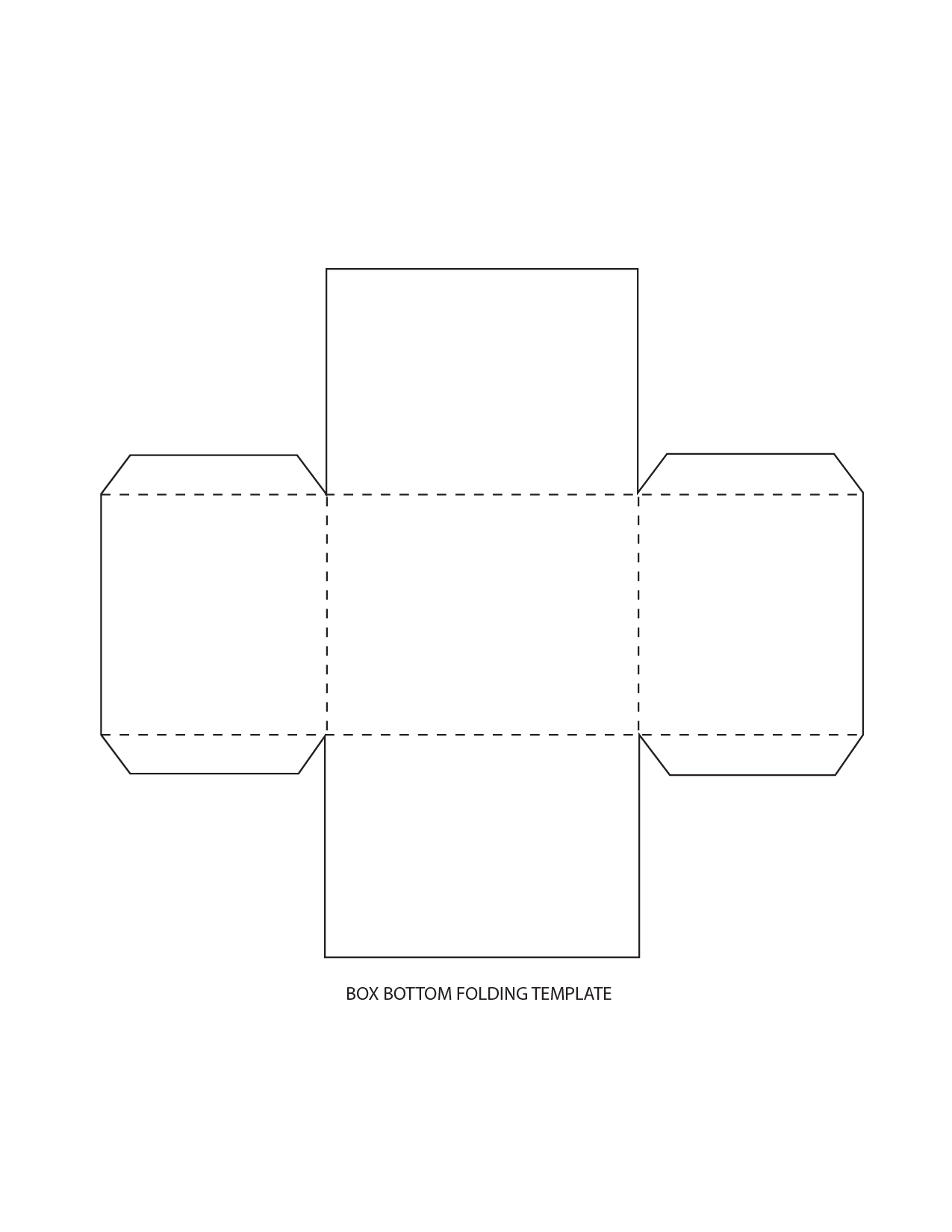 It is a graphic of Printable Box Template with regard to box making