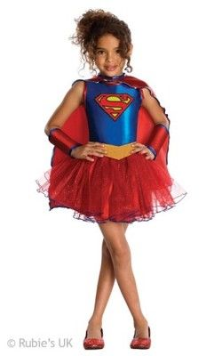 Stroj Supergirl Superbohater Supebohaterka 116 6544433322 Oficjalne Archiwum Allegro Supergirl Costume Superhero Costumes Kids Tutu Costumes