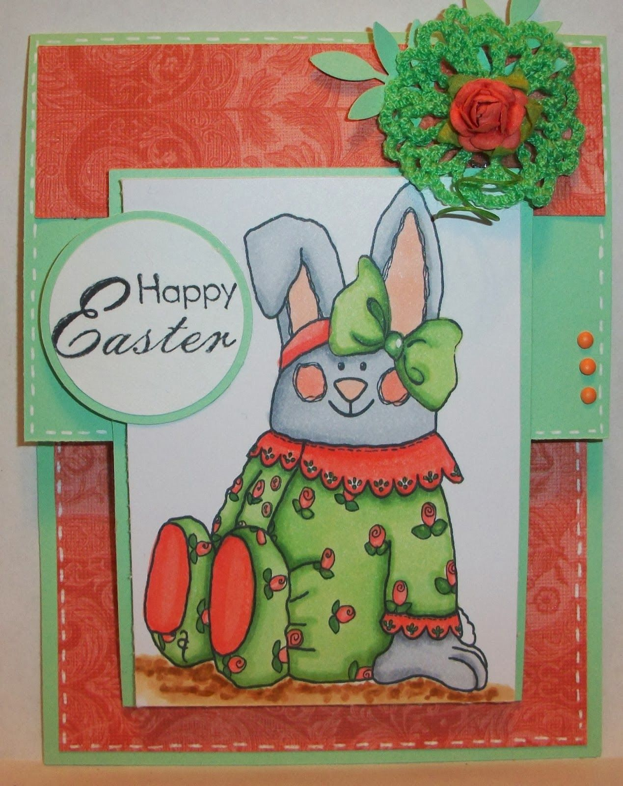 Send a smile 4 kids challenge blog team sas card by deonna its saturday and time for another fun challenge here at send a smile 4 kids this time our challenge is easterspring cards 4 kids kristyandbryce Image collections
