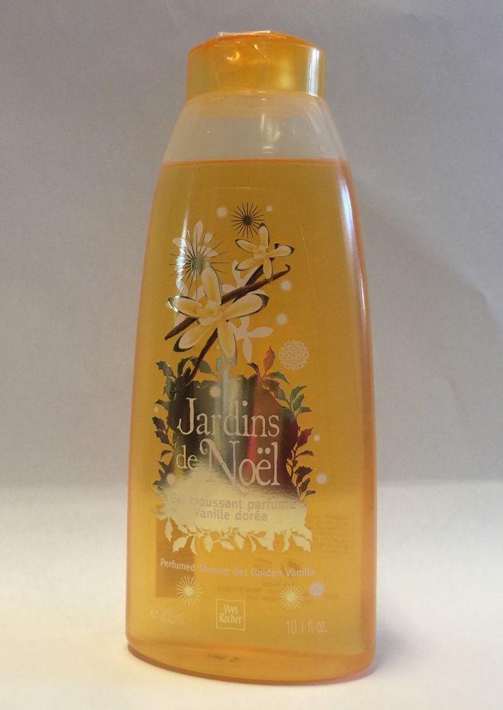 Yves Rocher Jardins De Noel Perfumed Shower Gel Golden Vanilla
