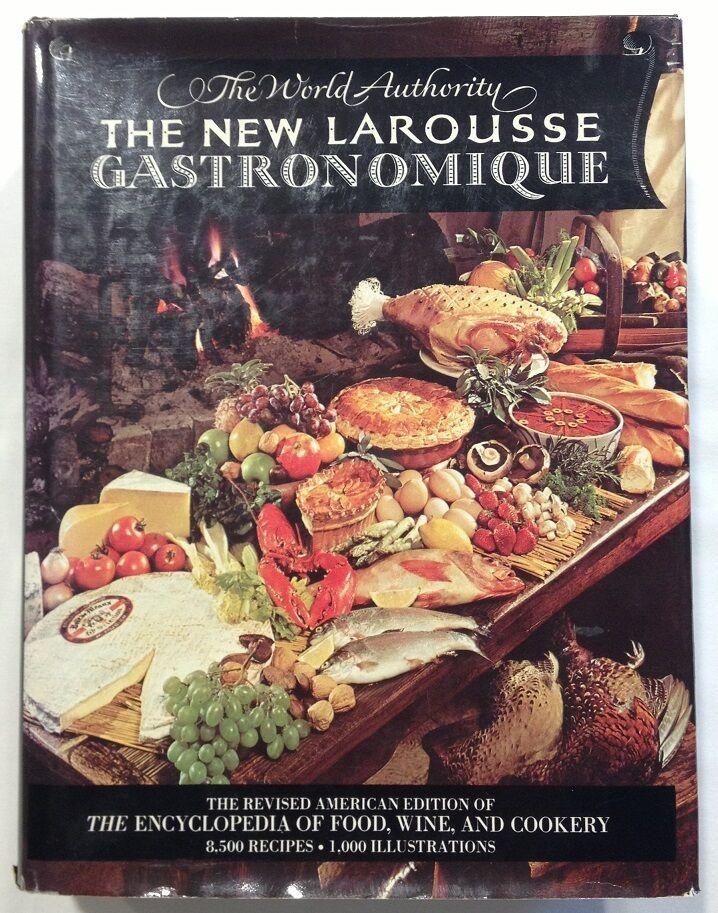 The New Larousse Gastronomique (1977, HCDJ) 8,500 Recipes ...