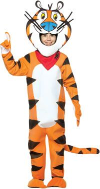Kids Tony The Tiger Costume Funny Costumes  sc 1 st  Pinterest & Kids Tony The Tiger Costume Funny Costumes | Costume Party - Kids ...
