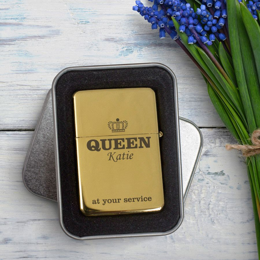 Shop Now!  http://www.blueponystyle.com/products/personalised-gold-lighter-queen?utm_campaign=social_autopilot&utm_source=pin&utm_medium=pin   #etsymntt #EtsySocial #ESLiving #ebay #toys #EpicOnEtsy #etsyretwt #gift #xmas