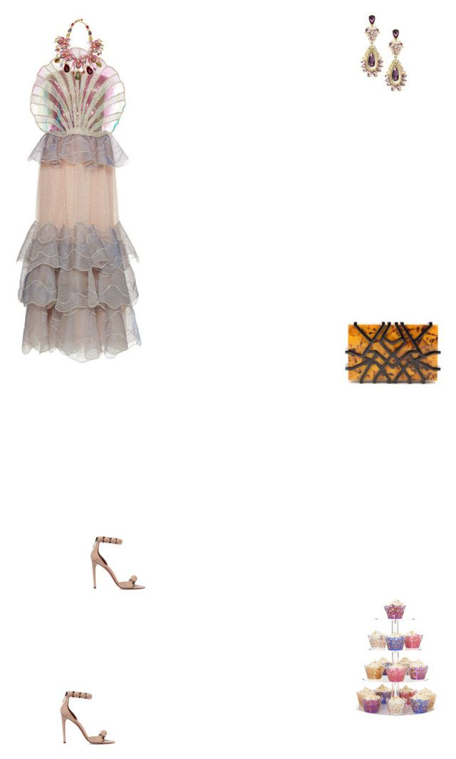 """""""Grace"""" by zoechengrace on Polyvore featuring Sandra Mansour, Carlo Zini, Alaïa and Nathalie Trad"""