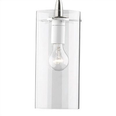 "Philips 5.13"" Avril Glass Cylinder Pendant Shade"