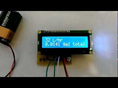 Arduino based water dispenser  (Flow Meter, Solenoid Valve) Flow