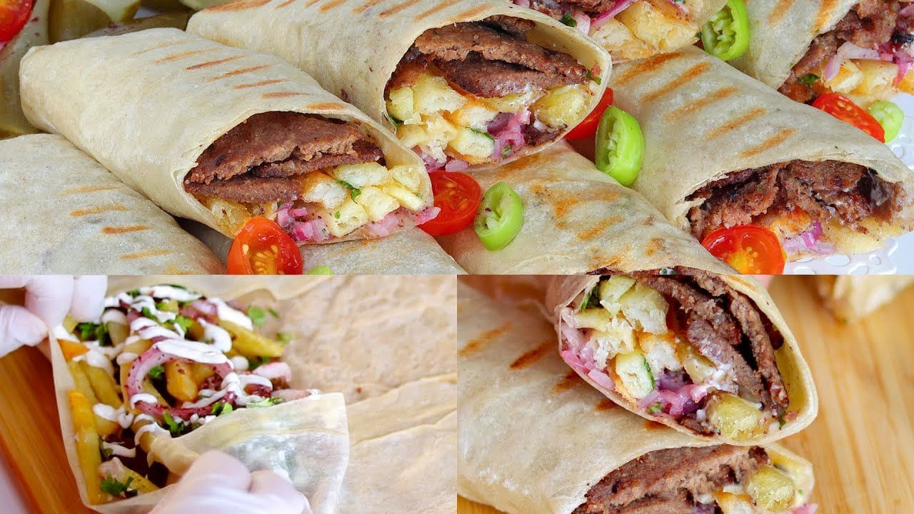 سندوتشات الشاورما علي الطريقة التركية مستحيل تشتروها من بره تاني Youtube Savoury Food Cooking Turkish Recipes
