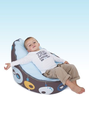 Baby Zitzak Doomoo.Doomoo Seat Bird Blue Nursery Furniture Baby Accessories