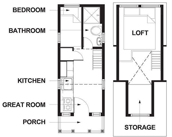 tiny houses at mt hood village oregon tiny houses floor planshouse - Tiny House Floor Plans