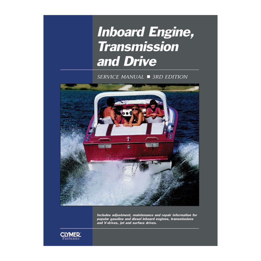 Clymer Inboard Engine Transmission Drive Service Manual 3rd Ed Boat Parts For Less Clymer Transmission Used Sailboats