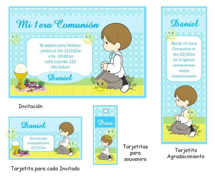 Para imprimir im genes para primera comuni n oracions - Imagenes primera comunion nino ...