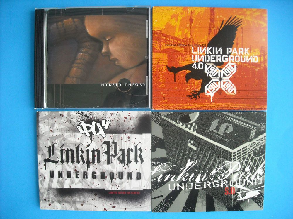 Lot Of 4 Rare Cds Linkin Park Hybrid Theory Ep Lpu Linkin