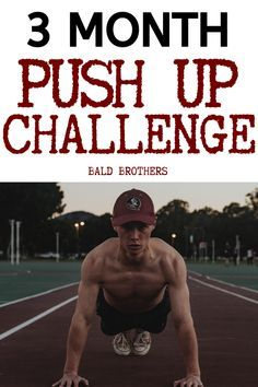 90 day push up challenge for all men to get fitter and