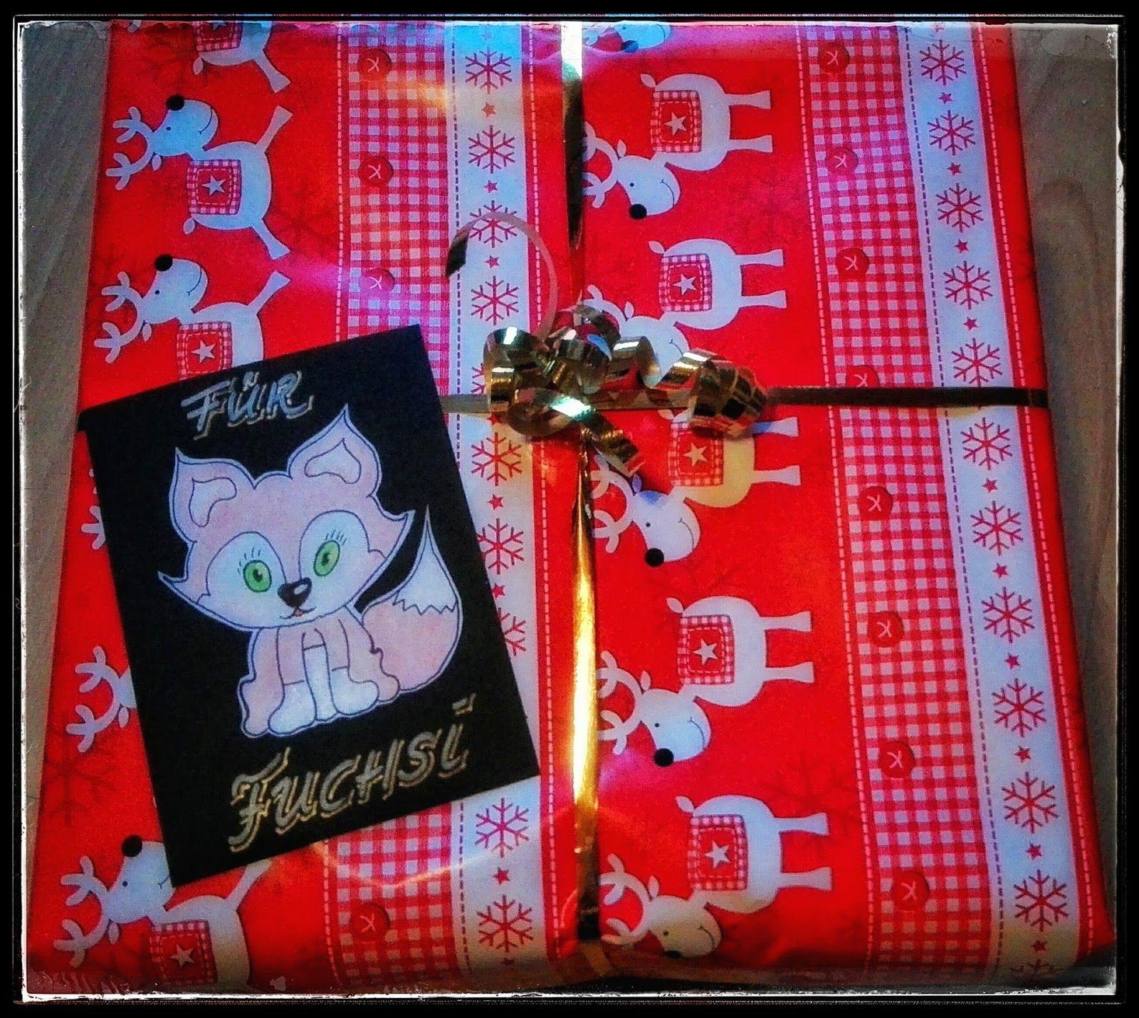 Wichtel Wichteln Weihnachten Fuchs Zeichnen Basteln Schachteln