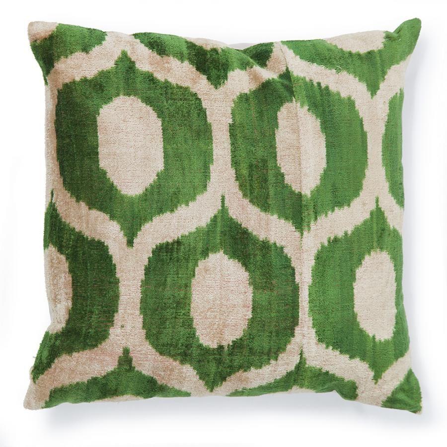 Melia pillow kelly green pillows poufs and throws pinterest