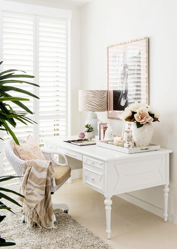 Home Feminine Home Offices Home Office Decor Home Office Furniture