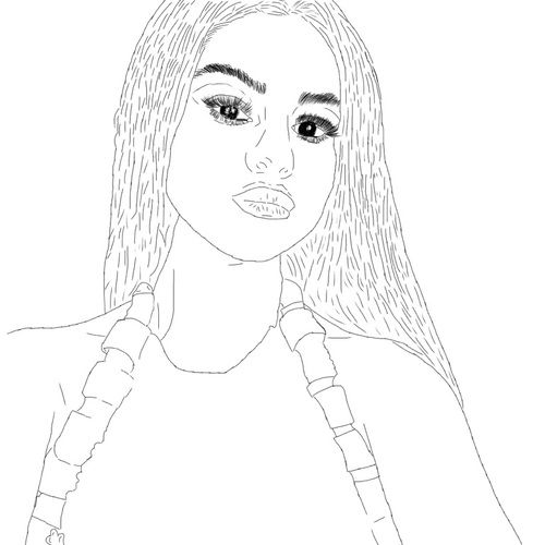We Heart It | cool, selena gomez, and outline | Selena ...