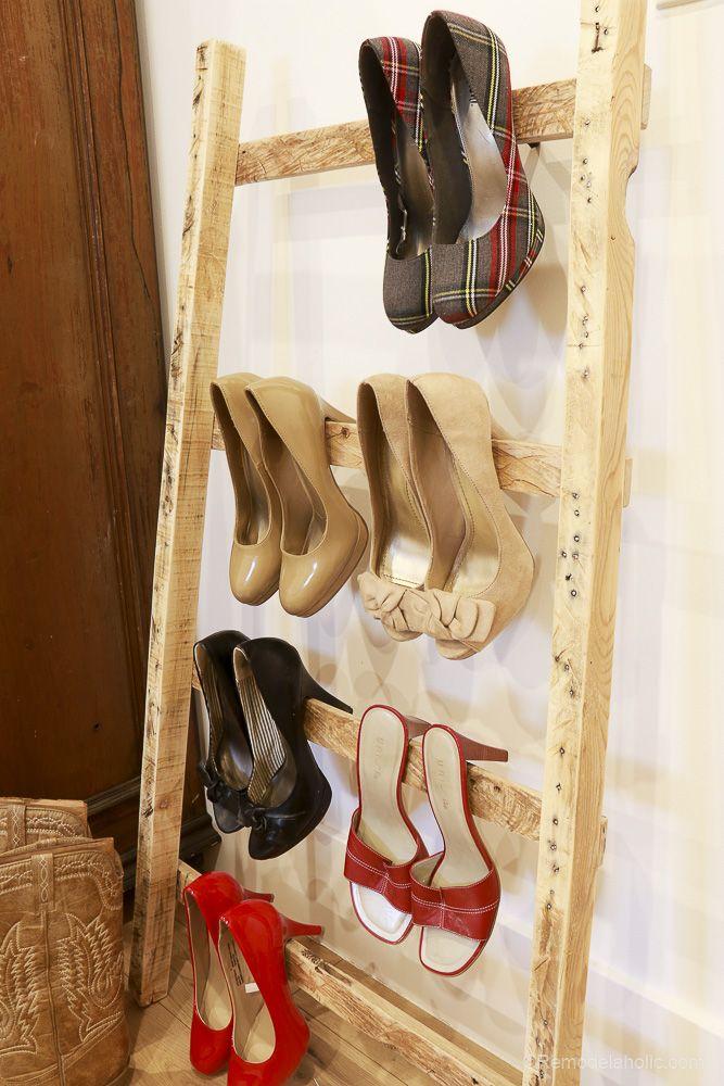 easy diy molding shoe storage for high heeled shoes on wood shoe rack diy simple id=66118