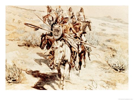 Return of the Warriors, 1906  Charles Marion Russell