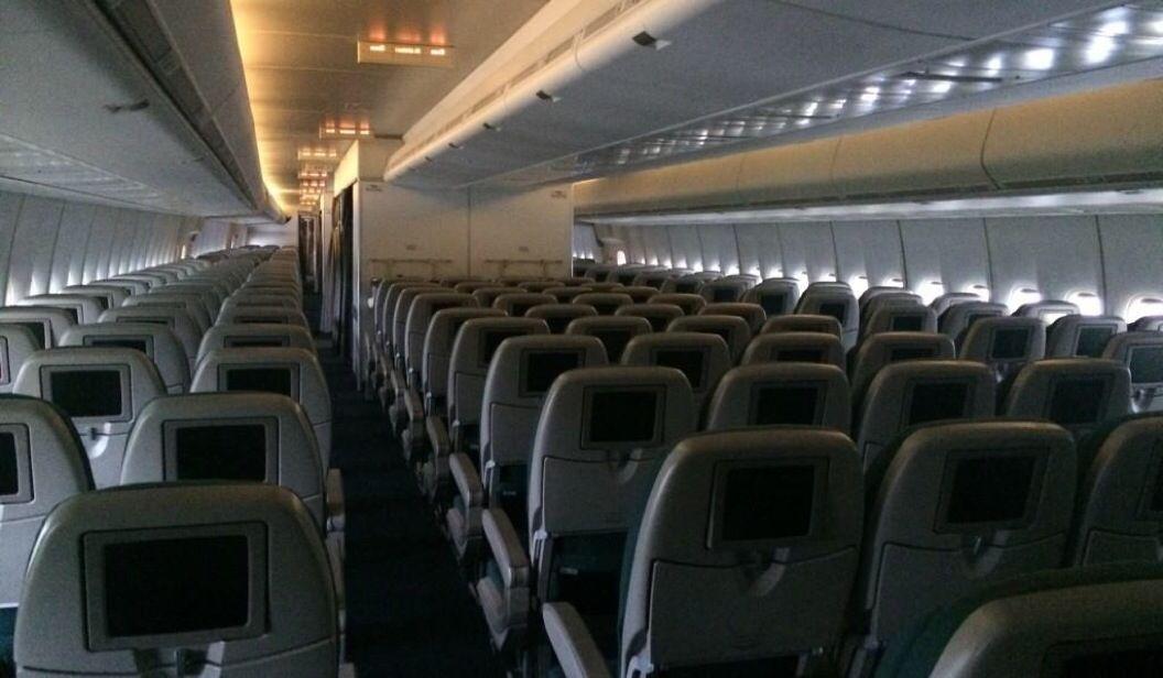 Boeing 747-400 Air New Zealand interior, 379 seats   Boeing B-747 ...