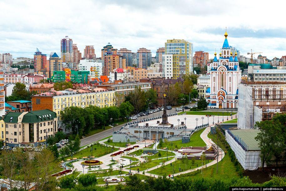 Хабаровск с высоты: город восходящего солнца « FotoRelax ...