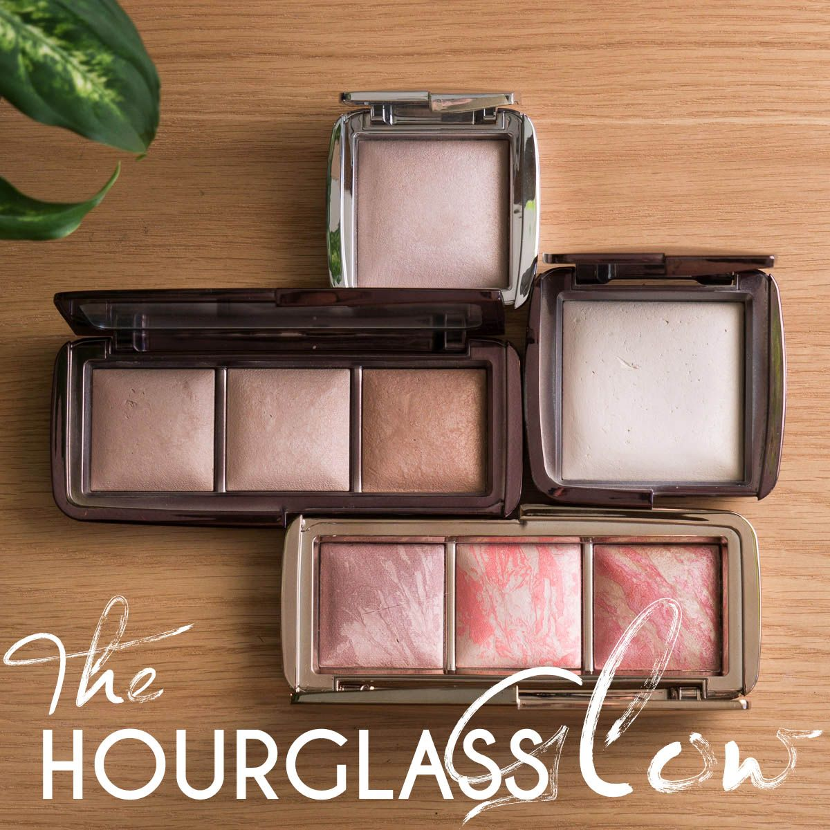 Get Glowy With Me U0026 HOURGLASS   HOURGLASS Ambient Lighting Powder Review  Swatches U0026 Look |