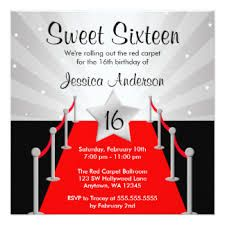 Image Result For Red Carpet Invitation Template Free