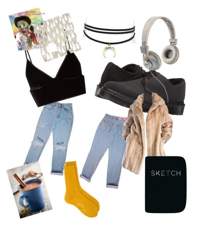 """""""day in the life of me x"""" by theperks0fbeingkeeley on Polyvore featuring T By Alexander Wang, Dr. Martens, Jules Smith, Lilli Ann, The House of Marley and Piccadilly"""