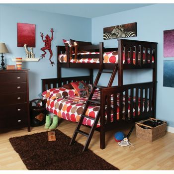 Seneca Twin Over Full Bunkbed 2 Piece Set