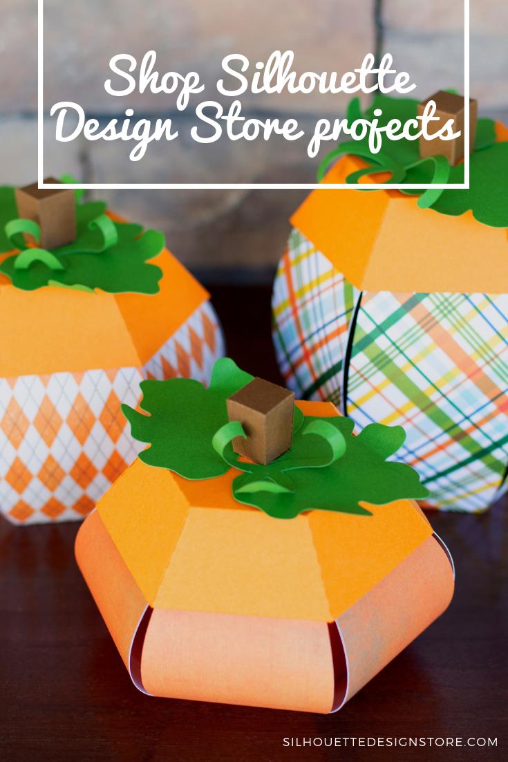 3d Pumpkin Paper Crafts Fall Thanksgiving Pinterest Fall