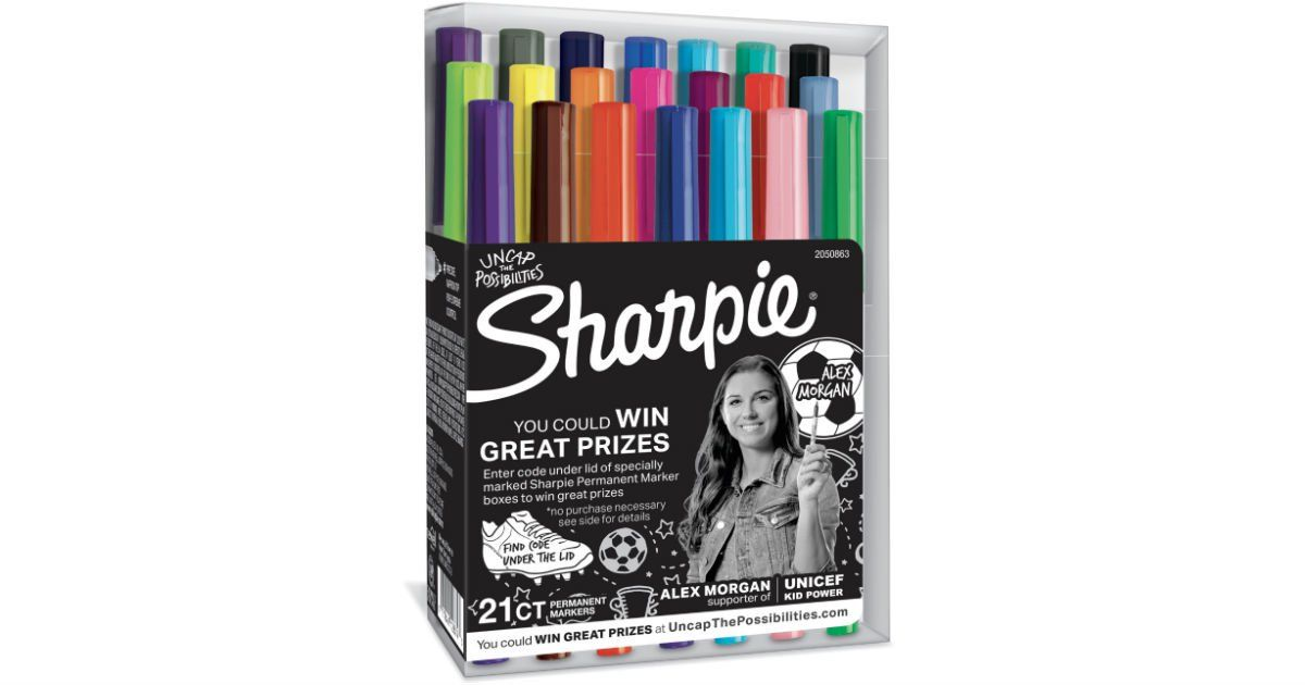 Sharpie Ultra Fine Point Markers 21ct ONLY 7.99 (Reg 35