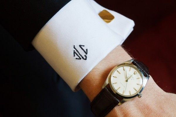 Image result for monogrammed cuff picture