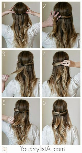 10 Peinados Diy De Novia Tambien Para Invitada Cute Everyday Hairstyles Hair Styles Hair Tutorial