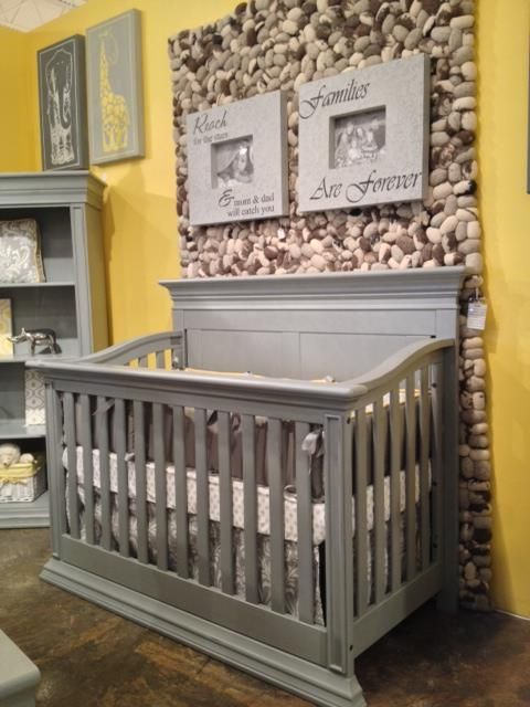 Legendary Panel Crib In Vintage Gray Baby Babysdream Georgiababy Atlanta Furniture