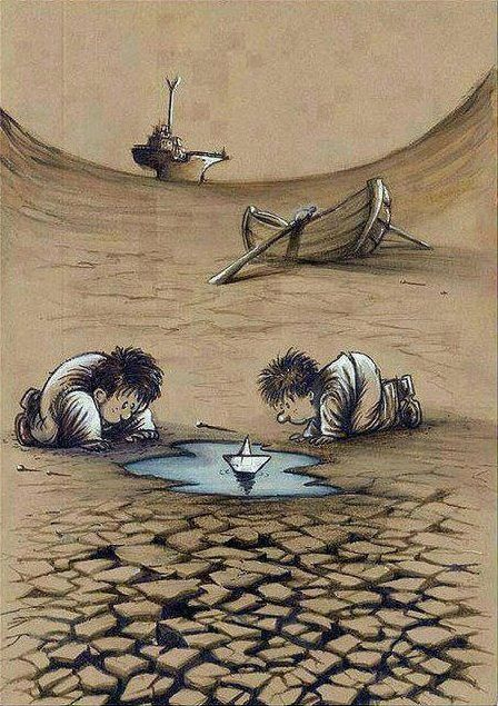 Deposito De Cartuns Save Water Poster Drawing Save Water