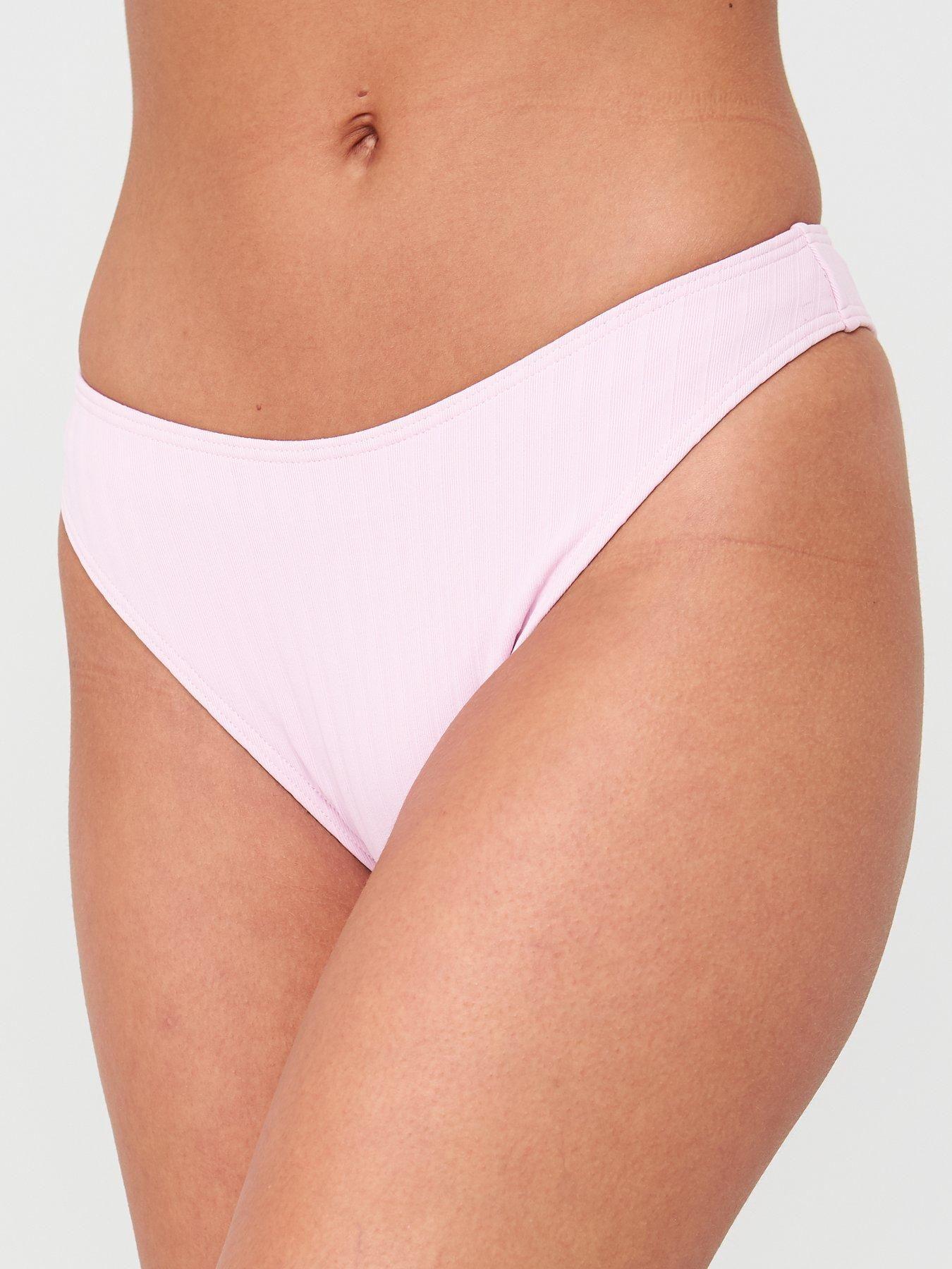 V By Very High Leg Bikini Briefs – Lilac, Lilac, Size 8, Women – Lilac – 8