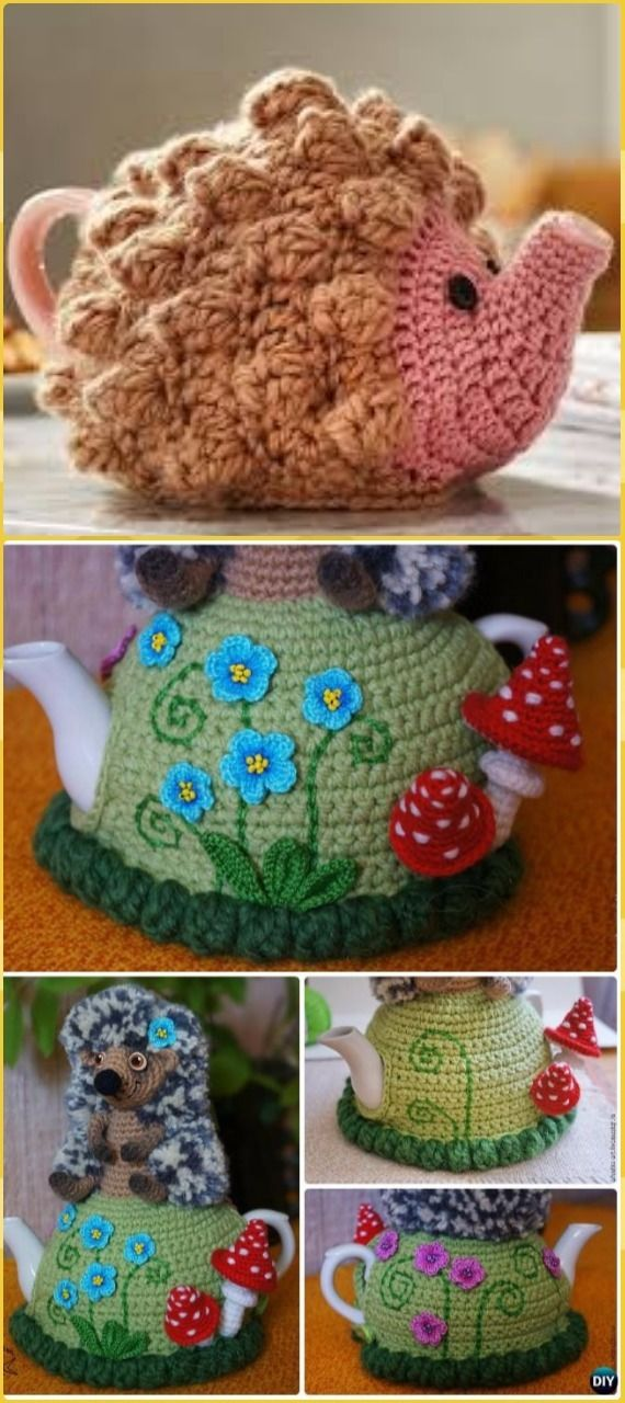 Crochet Hedgehog Tea Cozy Free Patterns - Crochet Hedgehog Free ...