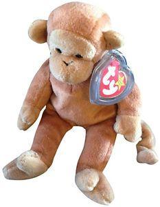 a481ef9d4ff Nana the Monkey Rare Beanie Babies