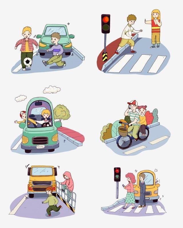 Advertencia Semaforo Seguridad De Viaje Trafico Coche Trafico Civilizado Ciudad Civilizad En 2020 Educacion Vial Para Ninos Seguridad Vial Educacion Tareas Para Kinder