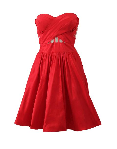 Strapless Cocktail Dress