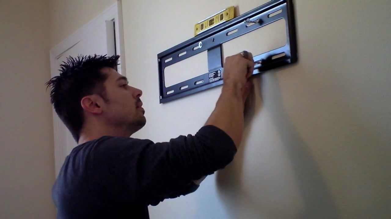 How To Hang Tv On Wall Mount Review How To In 2019