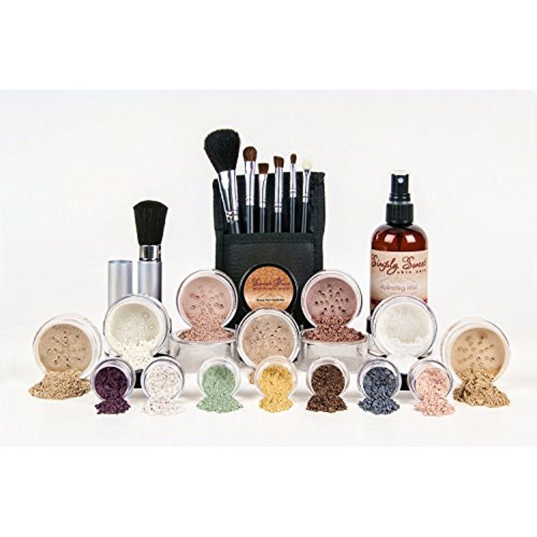 ULTIMATE KIT Full Size Mineral Makeup Set Matte Foundation