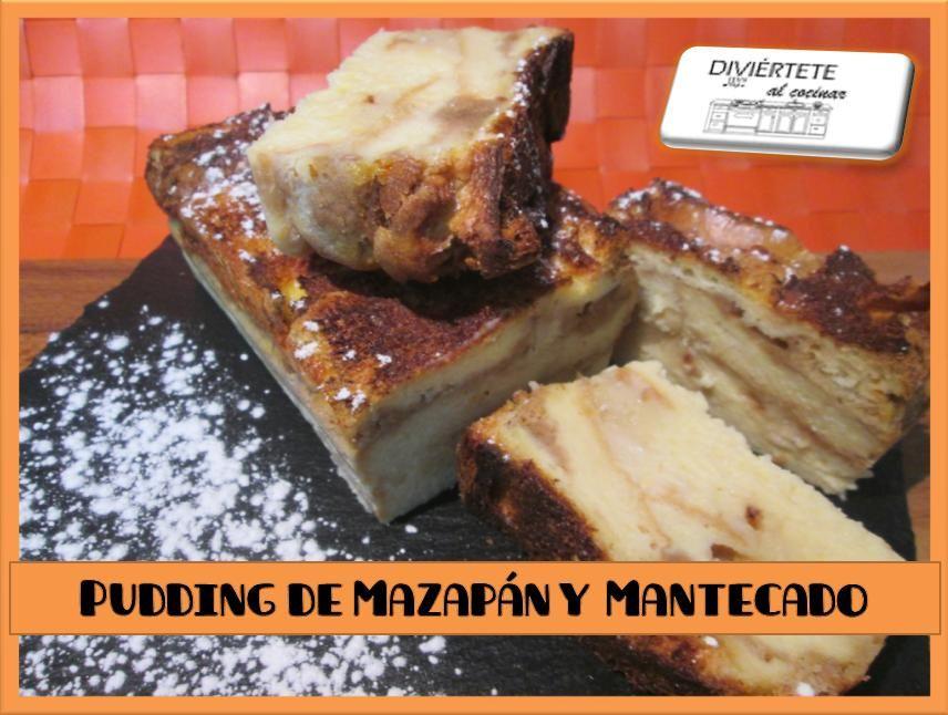 PUDDING DE MAZAPÁN Y MANTECADO (VÍDEO AQUI: https://www.youtube.com/watch?v=cqxj8wv1ytI /// Sígueme también en: Mi canal de youtube, Buscame en Bloger, Facebook, Instagram y Twitter como divertetealcocinar. Recuerda que cocinar puede ser divertido!!! Adios!!!