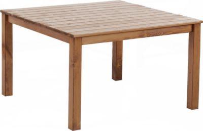 Massivholz Tisch Oslo Gartentisch Esstisch Tisch Braun Ca 116 X 116 X 70 Cm Jetzt Bestellen Unter Https Moebel Ladendirekt D Gartentisch Tisch Gartenmobel